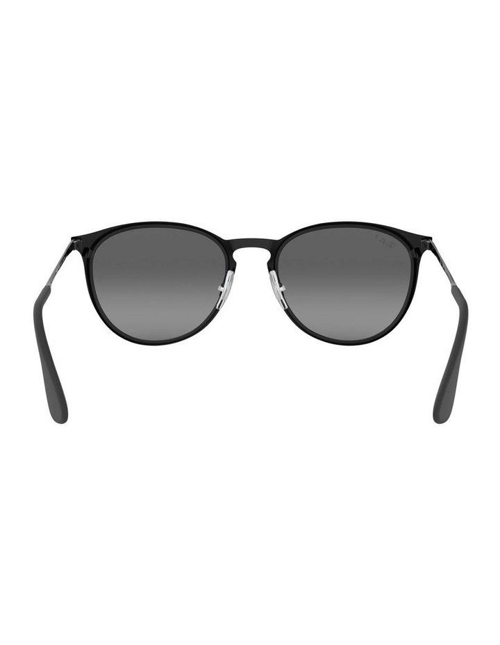 Erika Metal Polarised Black Keyhole Bridge Sunglasses 0RB3539 1509984005 image 7