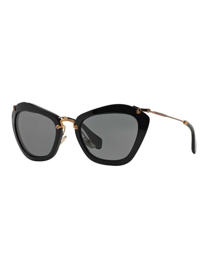 Black Cat Eye Sunglasses MU 10NS 345214 image 1
