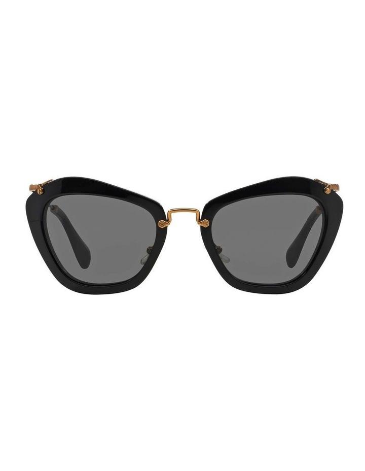 Black Cat Eye Sunglasses MU 10NS 345214 image 2