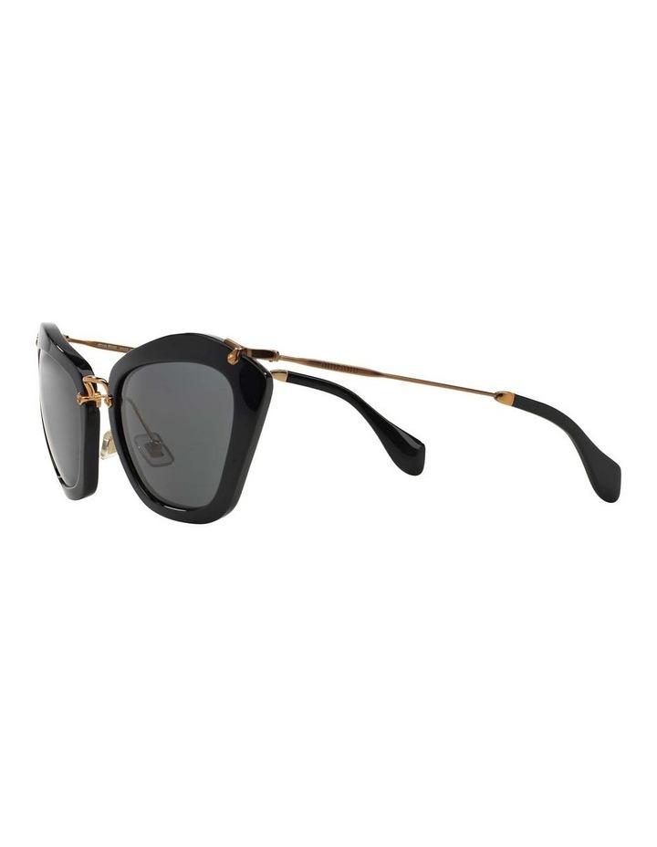 Black Cat Eye Sunglasses MU 10NS 345214 image 3