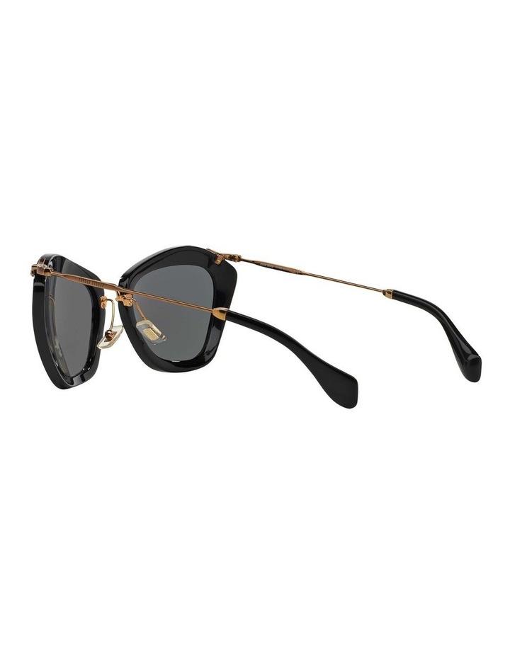 Black Cat Eye Sunglasses MU 10NS 345214 image 5