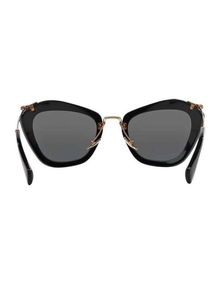 Black Cat Eye Sunglasses MU 10NS 345214 image 7