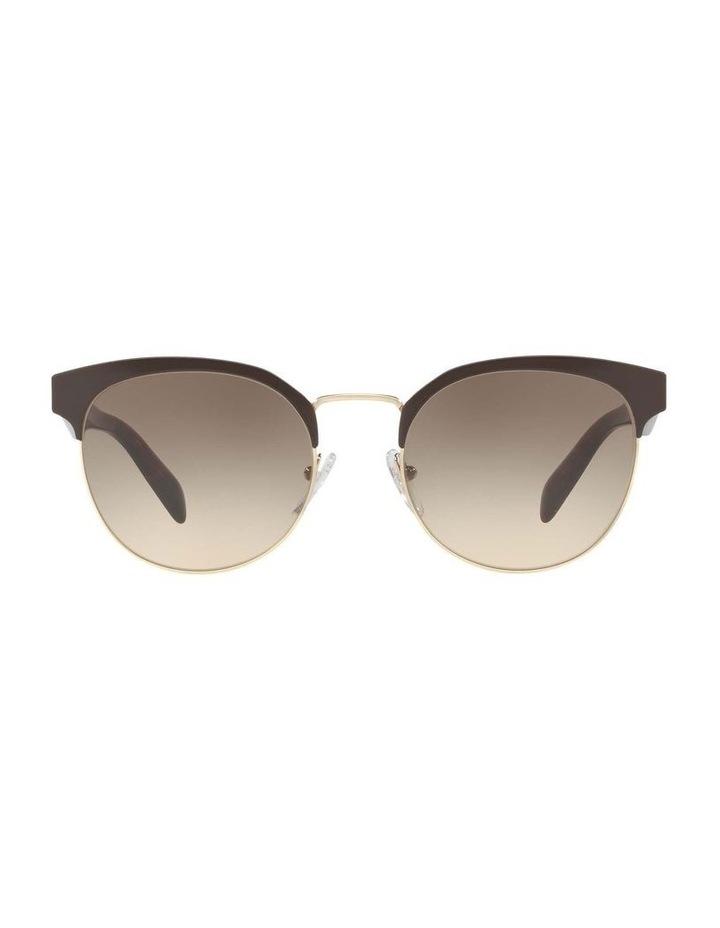 Brown Browline Sunglasses PR 61TS 404602 image 2