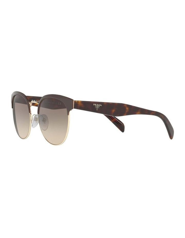 Brown Browline Sunglasses PR 61TS 404602 image 3