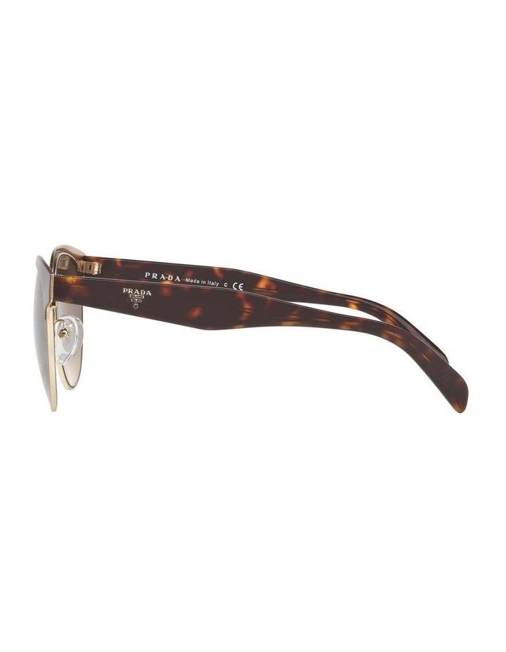 Brown Browline Sunglasses PR 61TS 404602 image 4