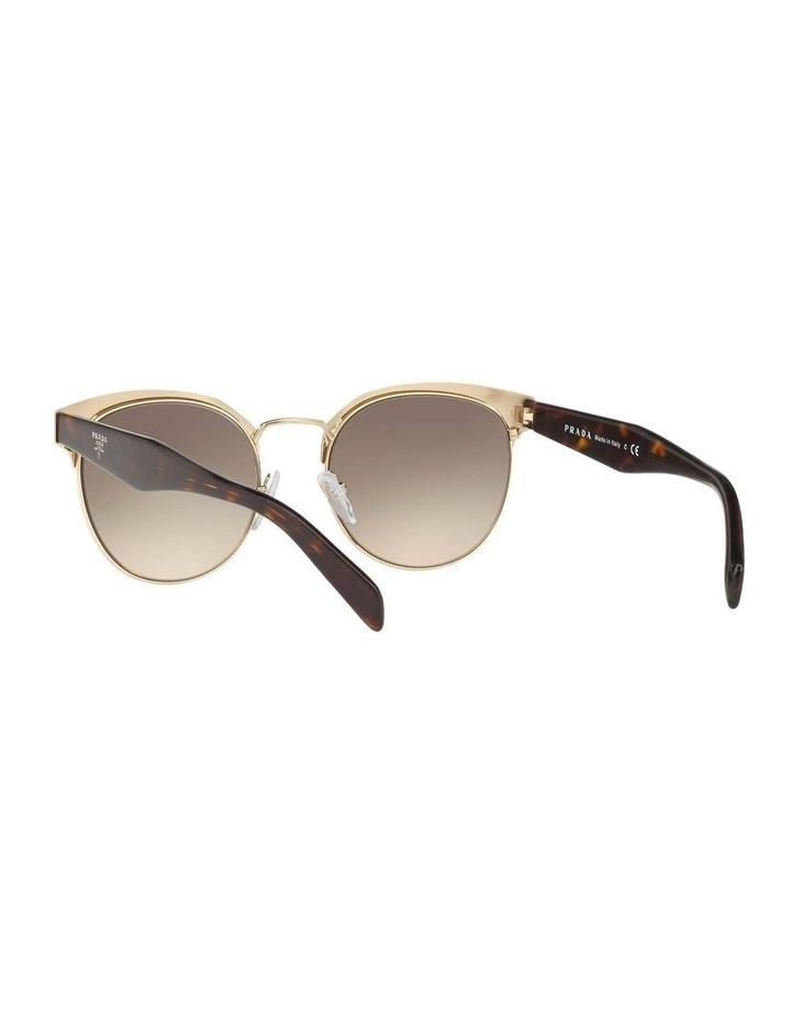 Brown Browline Sunglasses PR 61TS 404602 image 6