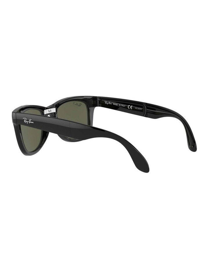 0RB4105 Folding Wayfarer 1098514004 Polarised Sunglasses image 5
