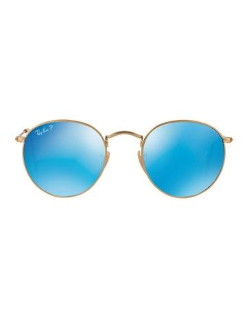 ray ban erika blue mirror