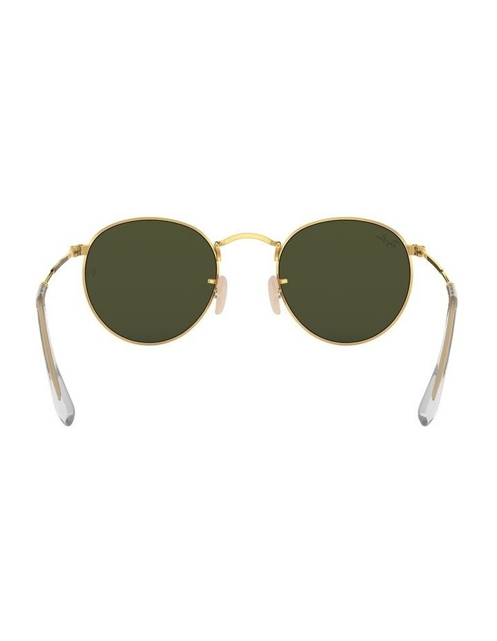 0RB3447 Round Metal 1101260001 Sunglasses image 7