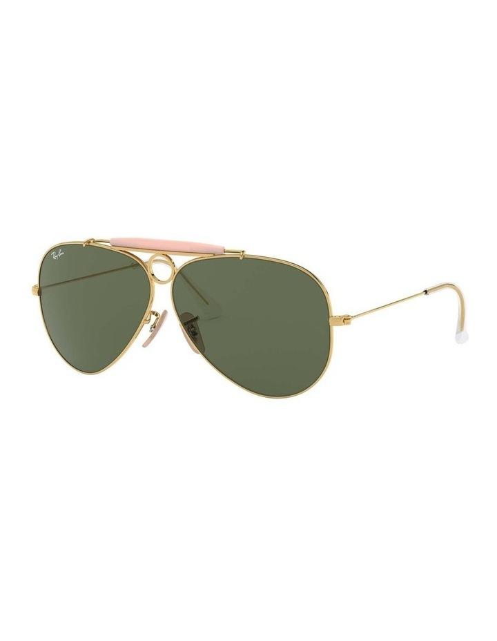Shooter Gold Aviator Sunglasses 0RB3138 1062765001 image 1