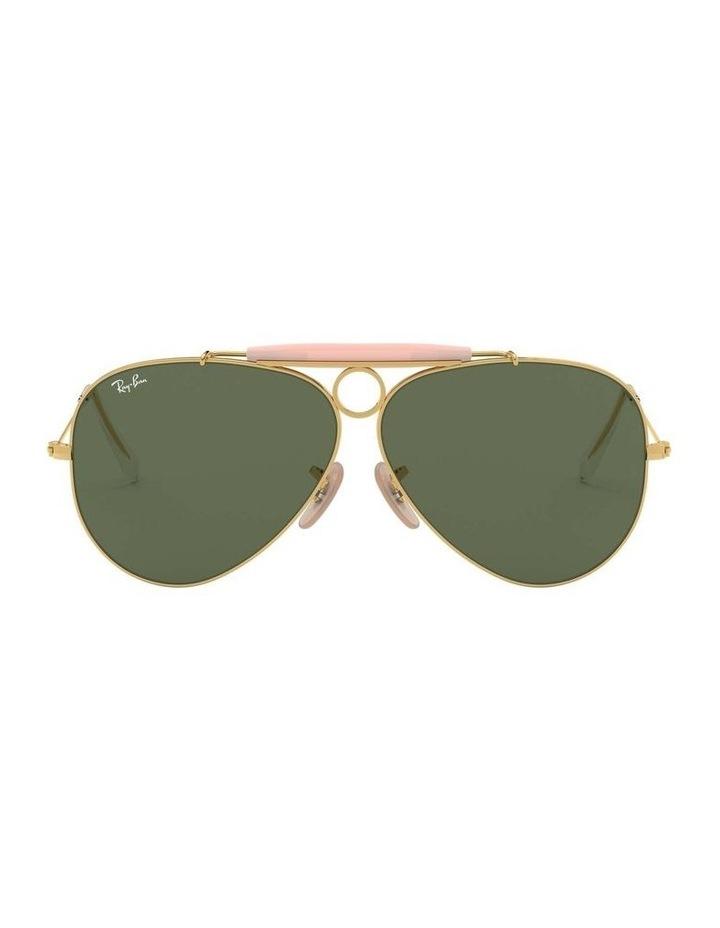 Shooter Gold Aviator Sunglasses 0RB3138 1062765001 image 2