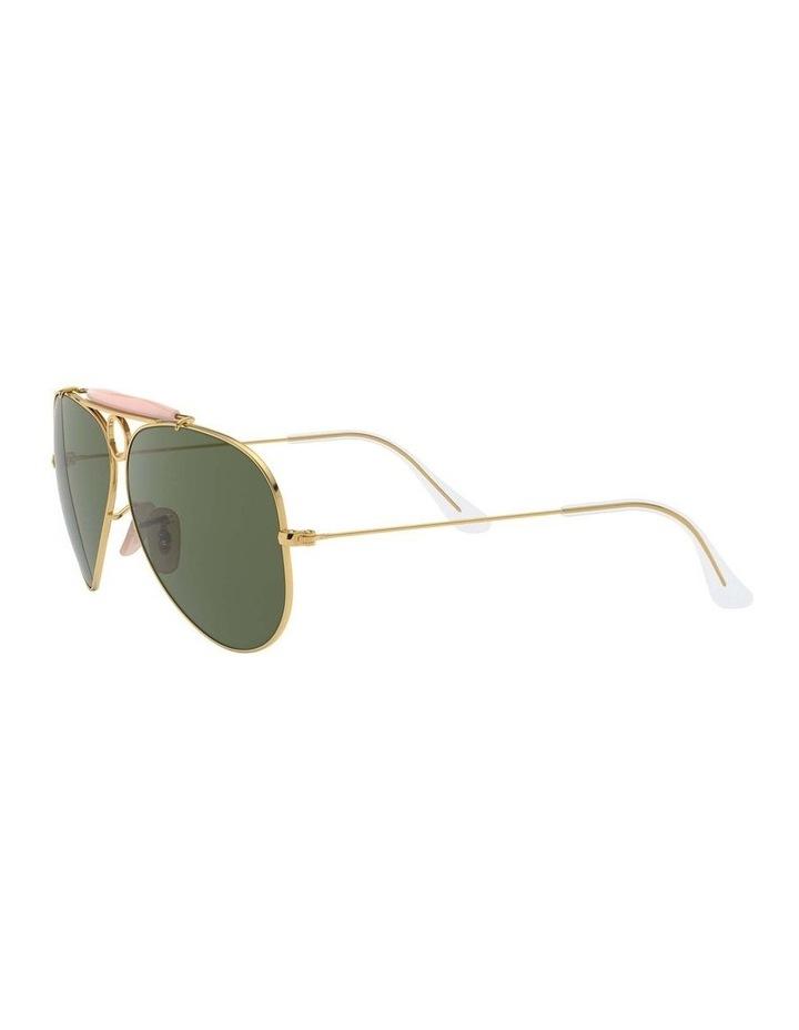Shooter Gold Aviator Sunglasses 0RB3138 1062765001 image 3