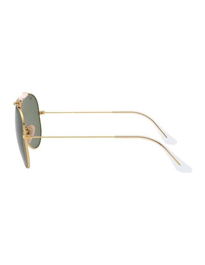 Shooter Gold Aviator Sunglasses 0RB3138 1062765001 image 4