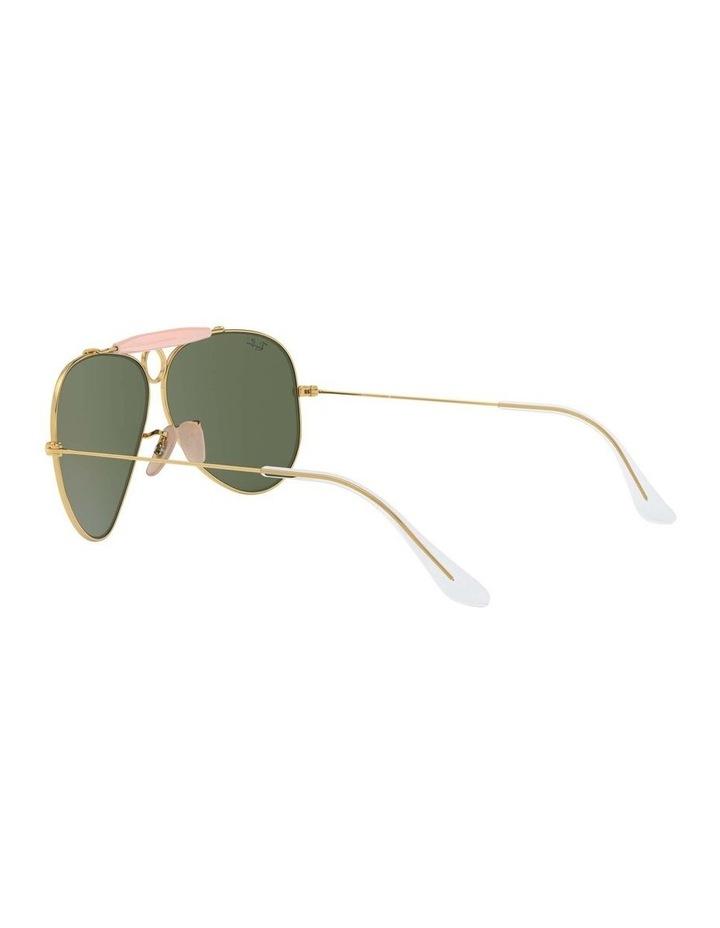 Shooter Gold Aviator Sunglasses 0RB3138 1062765001 image 5