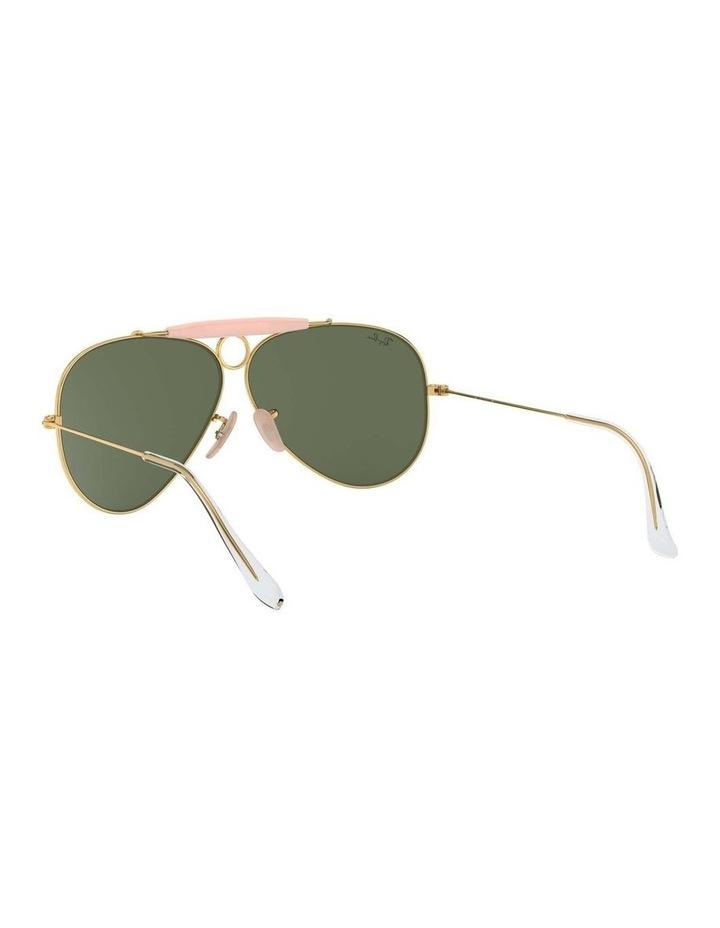Shooter Gold Aviator Sunglasses 0RB3138 1062765001 image 6
