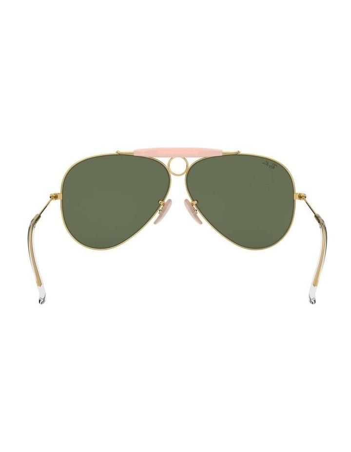Shooter Gold Aviator Sunglasses 0RB3138 1062765001 image 7