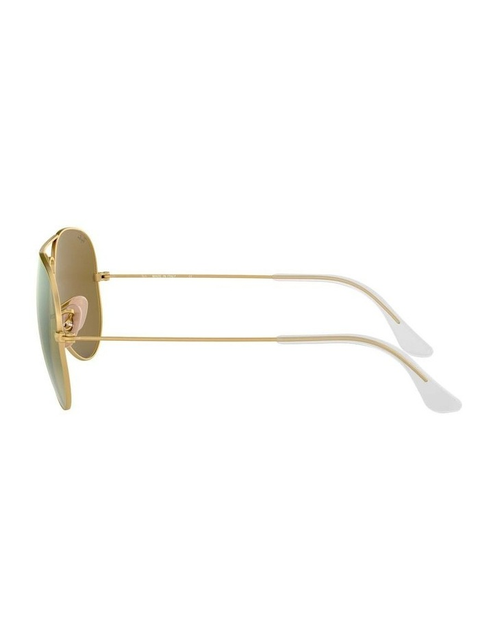 0RB3025 Aviator Large Metal 1130306008 Sunglasses image 4