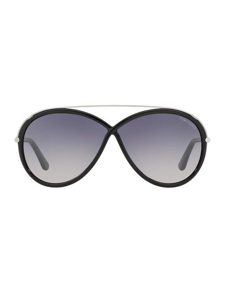 Tamara Black Oval Sunglasses 388155 image 2