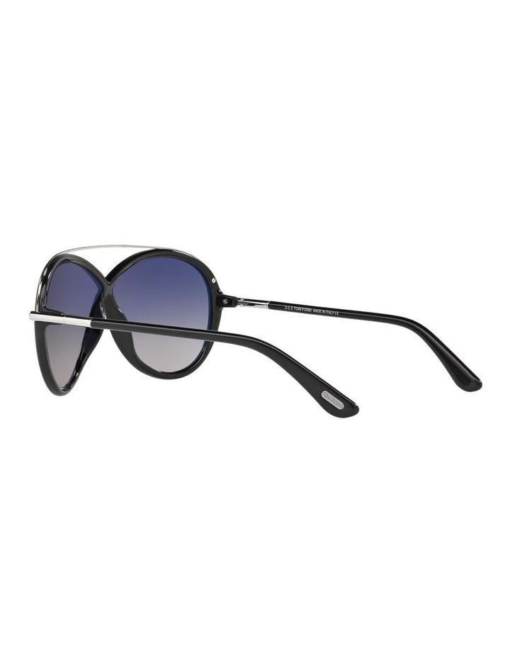 Tamara Black Oval Sunglasses 388155 image 5