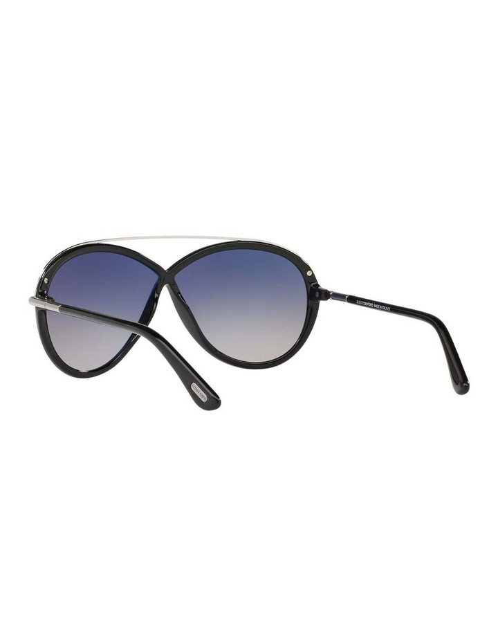 Tamara Black Oval Sunglasses 388155 image 6