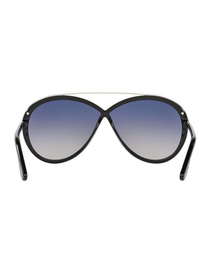 Tamara Black Oval Sunglasses 388155 image 7