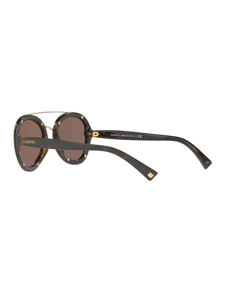 Gold Aviator Sunglasses VA4014 404720 image 5