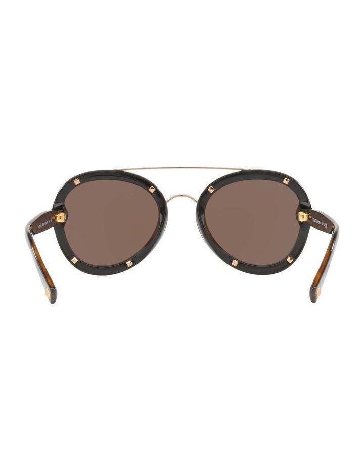 Gold Aviator Sunglasses VA4014 404720 image 7