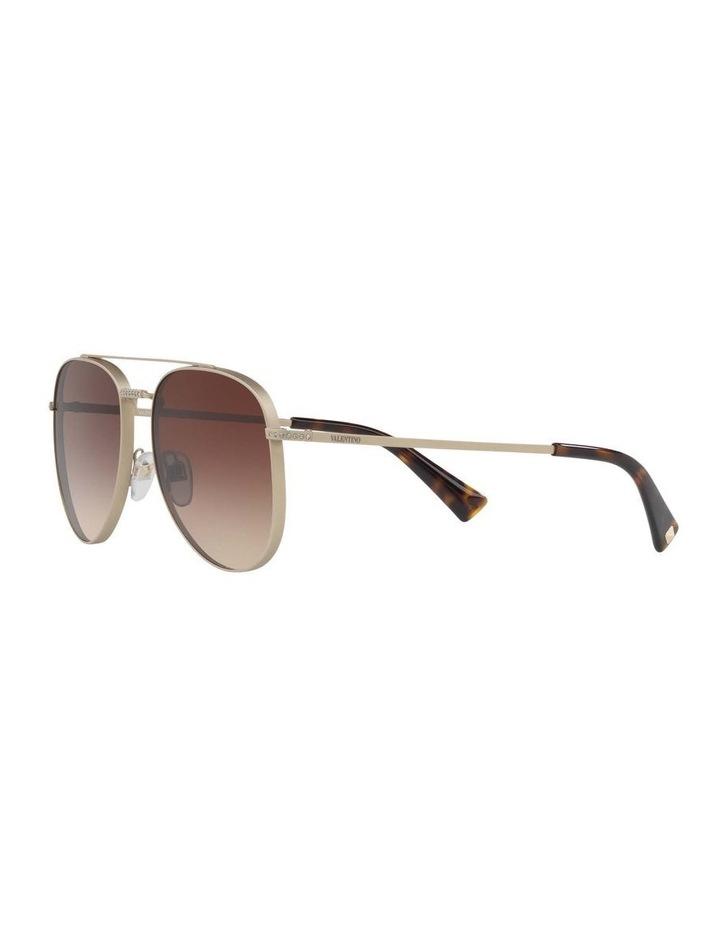 Gold Aviator Sunglasses VA2007B 404715 image 3