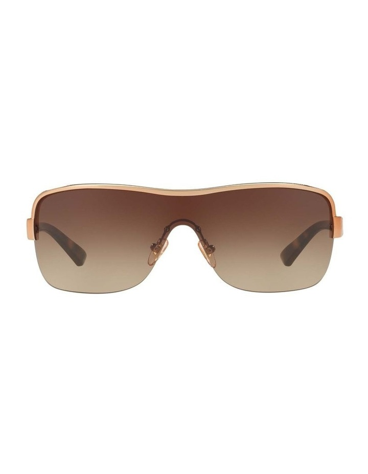 Brown Shield Sunglasses HU1003 409040 image 2