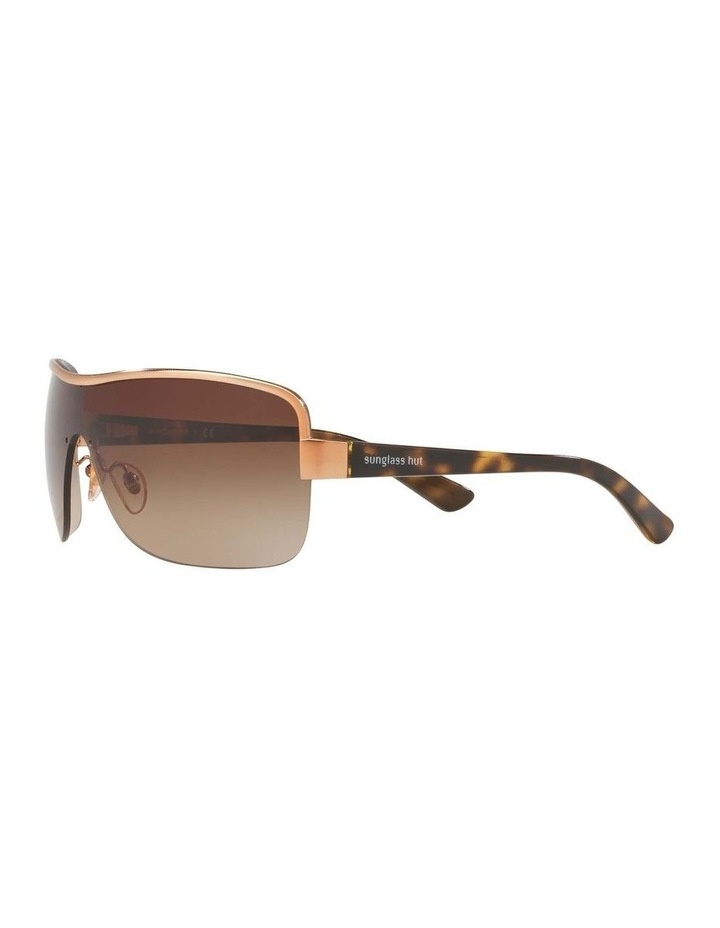 Brown Shield Sunglasses HU1003 409040 image 3