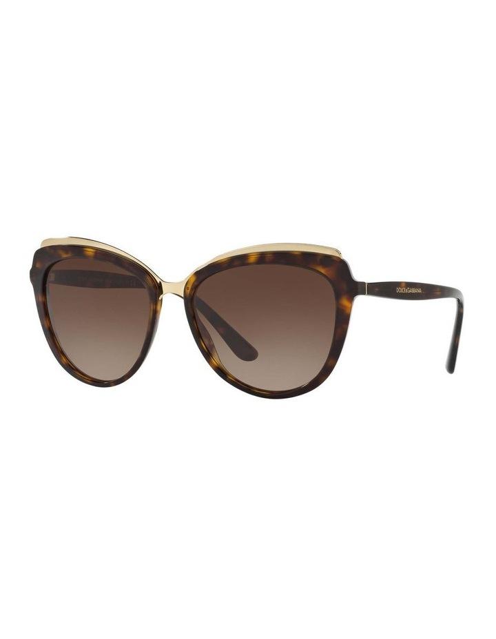 Tortoise Cat Eye Sunglasses DG4304F 402017 image 1