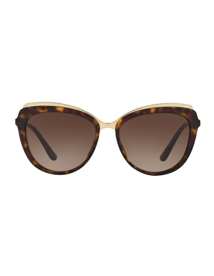 Tortoise Cat Eye Sunglasses DG4304F 402017 image 2