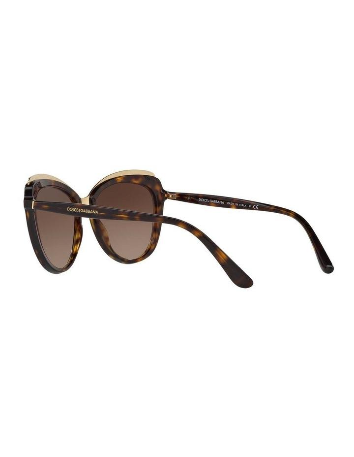 Tortoise Cat Eye Sunglasses DG4304F 402017 image 5
