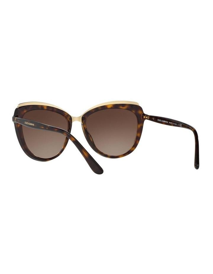Tortoise Cat Eye Sunglasses DG4304F 402017 image 6