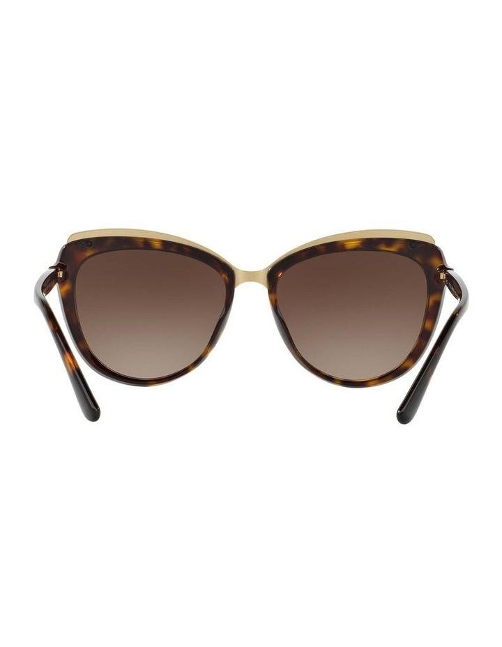 Tortoise Cat Eye Sunglasses DG4304F 402017 image 7