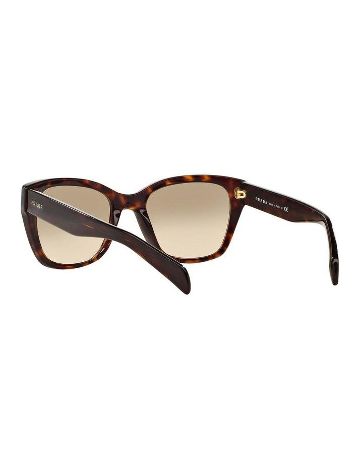 Tortoise Square Sunglasses PR 09SSF 387691 image 6