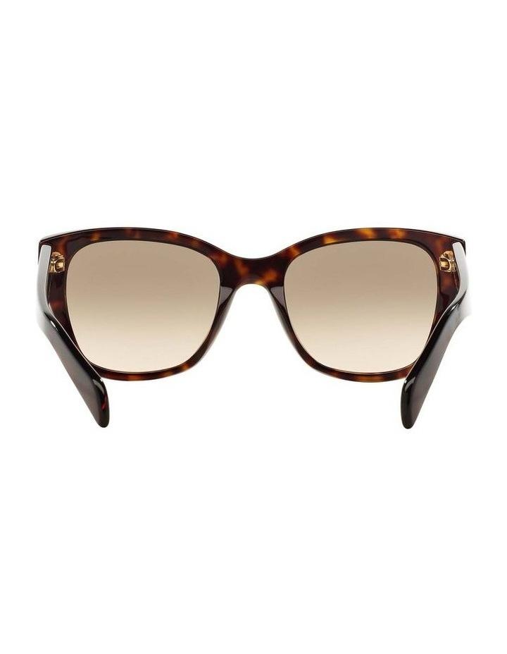 Tortoise Square Sunglasses PR 09SSF 387691 image 7