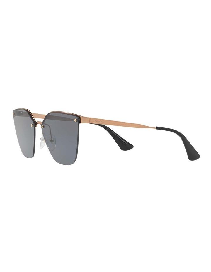 Polarised Gold Cat Eye Sunglasses PR 68TS 405145 image 3