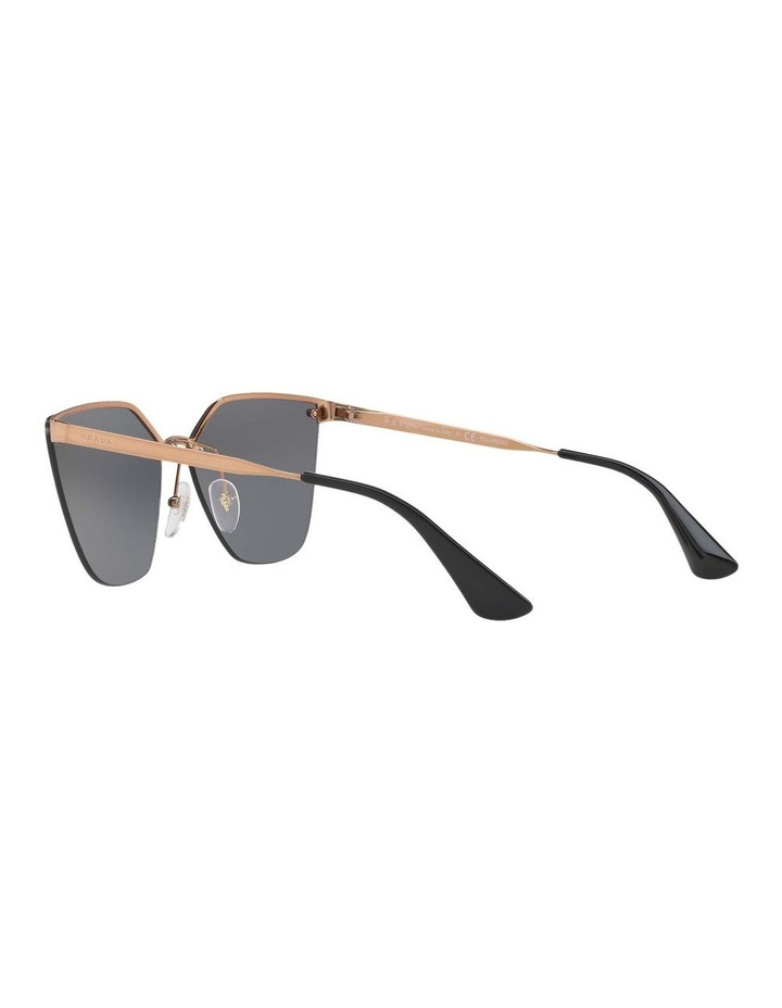 Polarised Gold Cat Eye Sunglasses PR 68TS 405145 image 5