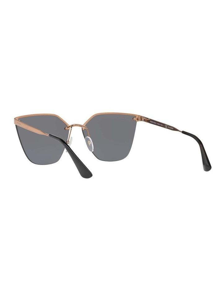Polarised Gold Cat Eye Sunglasses PR 68TS 405145 image 6