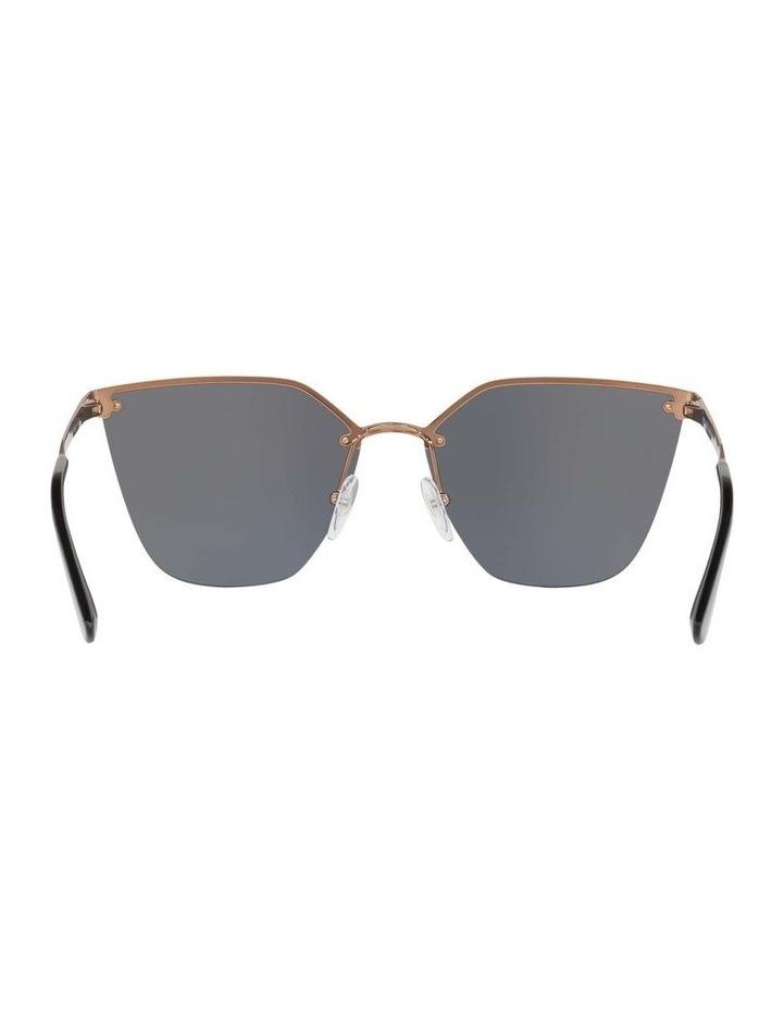 Polarised Gold Cat Eye Sunglasses PR 68TS 405145 image 7