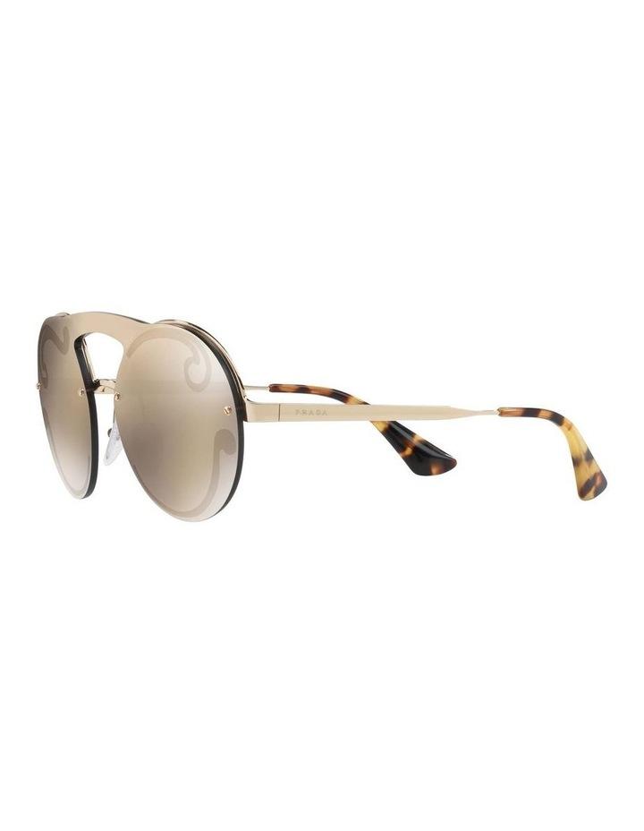 Gold Rimless Round Sunglasses PR 65TS 407774 image 3