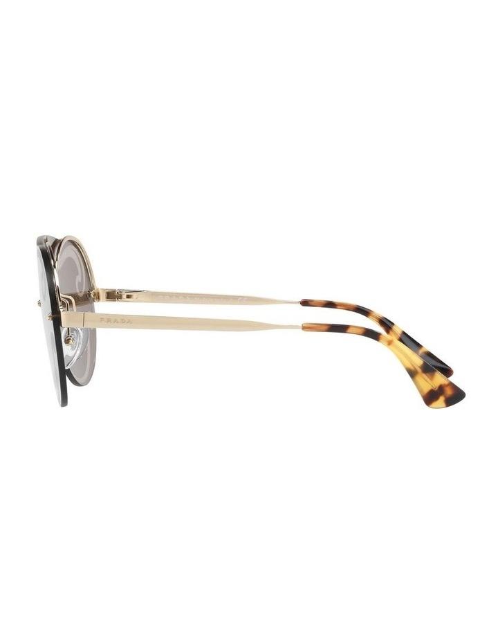 Gold Rimless Round Sunglasses PR 65TS 407774 image 4
