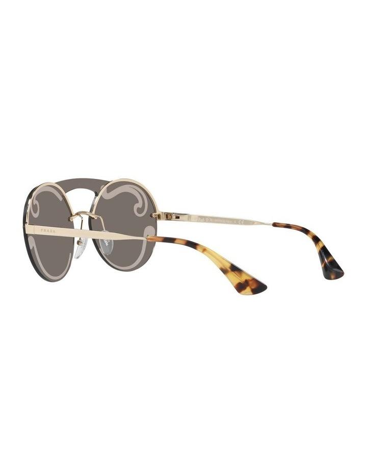 Gold Rimless Round Sunglasses PR 65TS 407774 image 5
