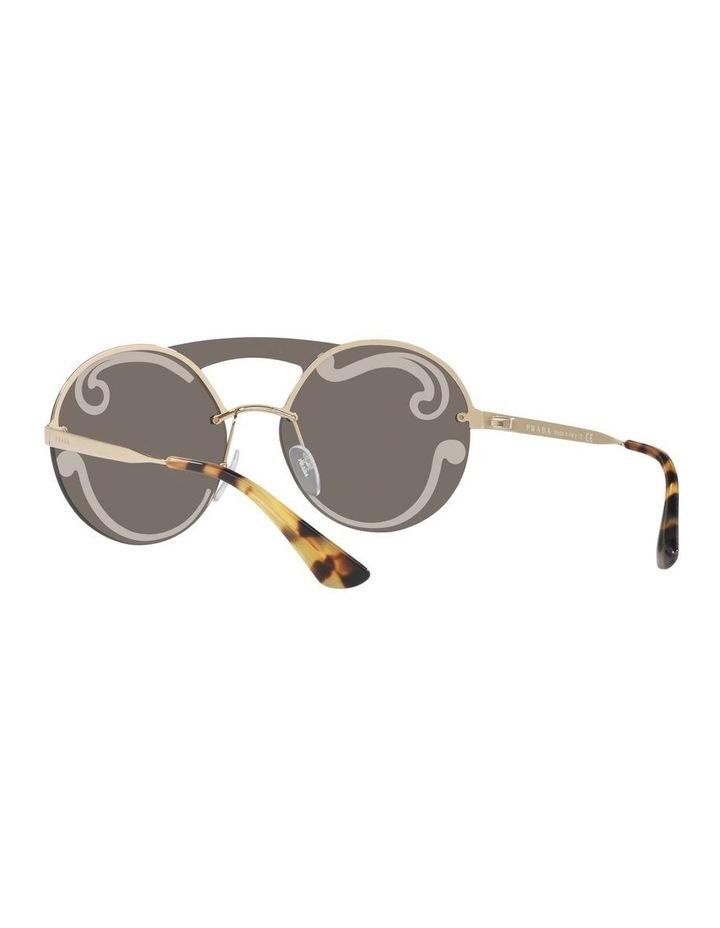Gold Rimless Round Sunglasses PR 65TS 407774 image 6