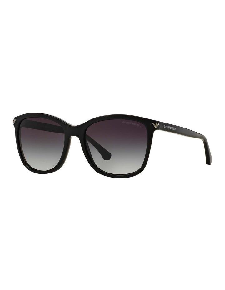 Black Square Sunglasses EA4060F 387579 image 1