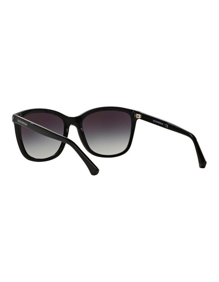 Black Square Sunglasses EA4060F 387579 image 6