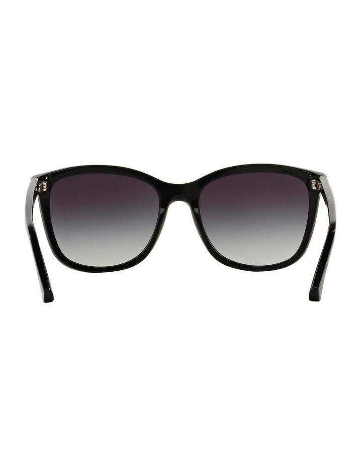 Black Square Sunglasses EA4060F 387579 image 7