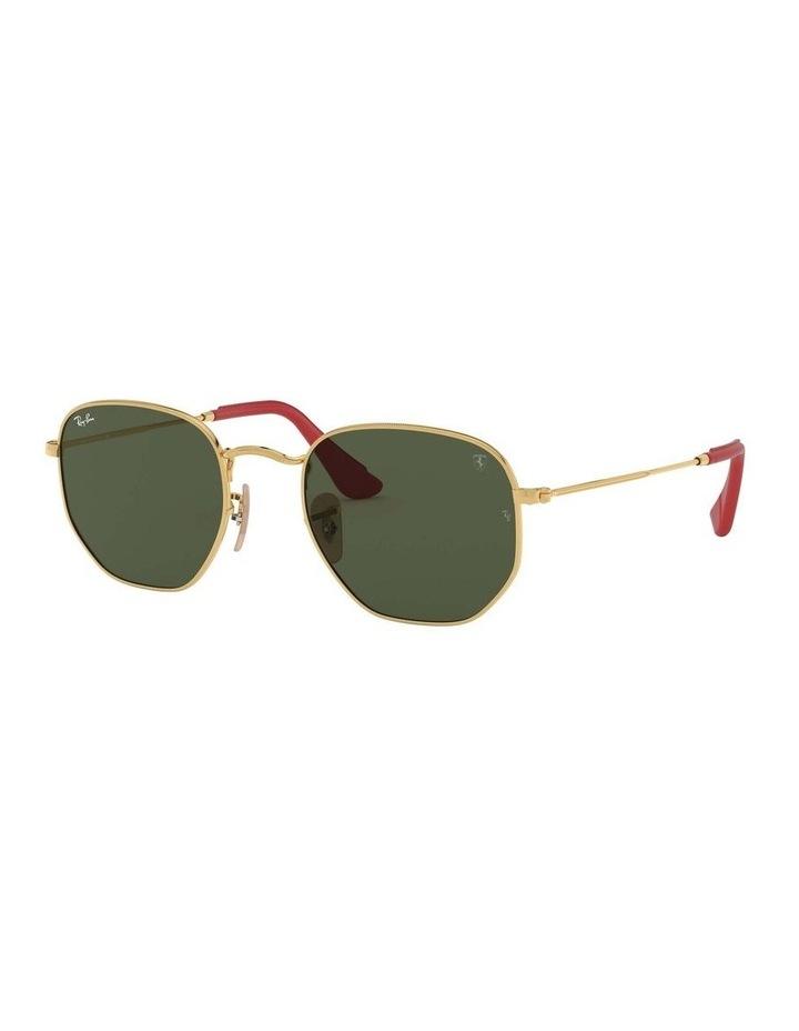 Ferrari Gold Hexagonal Sunglasses 0RB3548NM 1517173003 image 1