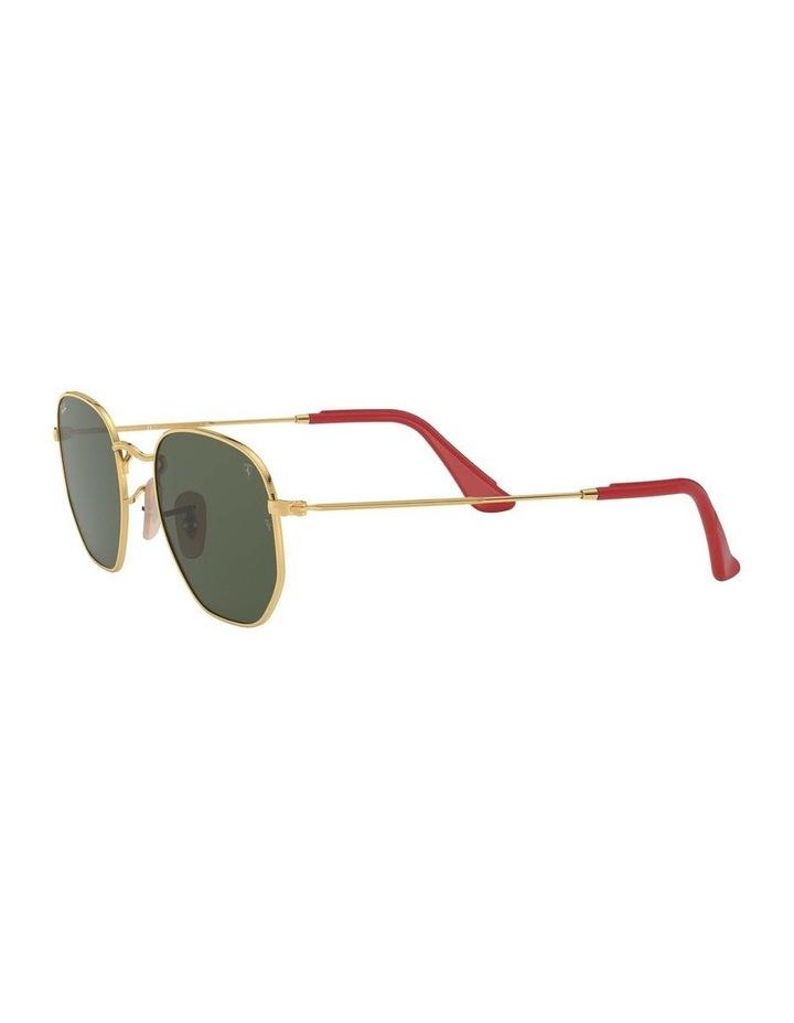 Ferrari Gold Hexagonal Sunglasses 0RB3548NM 1517173003 image 3